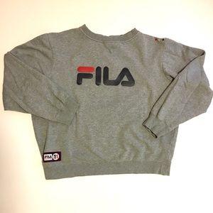 Vintage Logo Fila Sweatshirt
